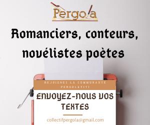 Envoyez-nous vos textes, faîtes partie de l'aventure Pergolayiti